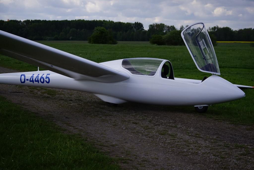 ASK21 Praktische Prüfung Janosch Segelflug