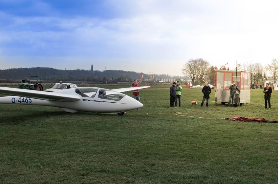 Segelflugsaison Beginn 2016 Augsburger Verein für Segelflug