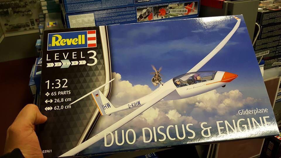 DuoDiscus AVS als Revell Modellbausatz