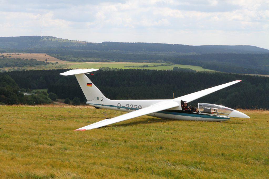 Flo Foka Wasserkuppe Segelflugzeug